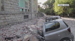Trzęsienie ziemi i wstrząsy wtórne  w Albanii