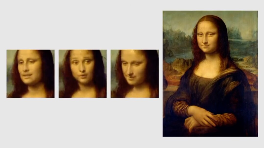 """Mona Lisa mówi i przytakuje. Program, który """"ożywia"""" obrazy i zdjęcia"""