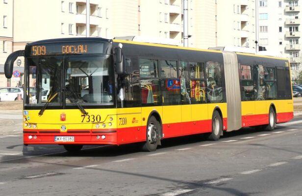Dodatkowe autobusy na linii 509 ZTM