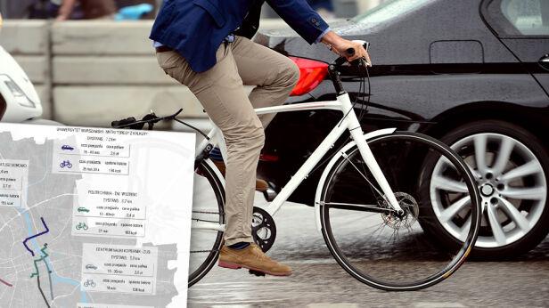 Szybciej samochodem czy rowerem? Shutterstock