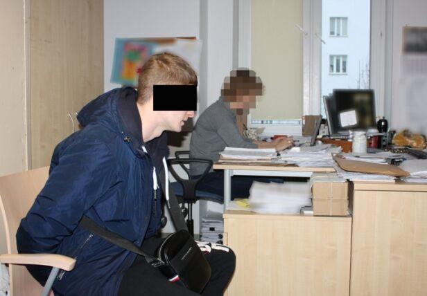 Podejrzany o kradzież ubrań z galerii ksp