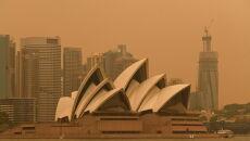 Pożary w Nowej Południowej Walii (PAP/EPA/BIANCA DE MARCHI)