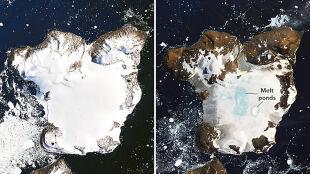 Po falach ciepła krajobraz Antarktydy drastycznie się zmienił